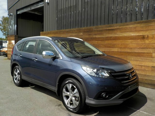 Used Honda CR-V RM VTi-L 4WD, 2012 Honda CR-V RM VTi-L 4WD Blue 5 Speed Automatic Wagon