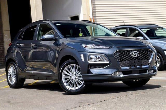 New Hyundai Kona OS.3 MY20 Elite 2WD, 2019 Hyundai Kona OS.3 MY20 Elite 2WD Dark Knight 6 Speed Sports Automatic Wagon