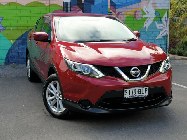 Used Nissan Qashqai J11 ST, 2016 Nissan Qashqai J11 ST Red 1 Speed Constant Variable Wagon