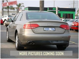 2009 Audi A4 B8 8K Gold Constant Variable Sedan.