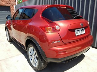 2014 Nissan Juke F15 MY14 ST 2WD Red 1 Speed Constant Variable Hatchback
