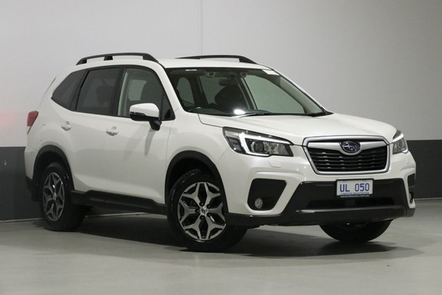 Used Subaru Forester MY18 2.5I-S, 2018 Subaru Forester MY18 2.5I-S Crystal White Continuous Variable Wagon