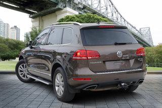 2013 Volkswagen Touareg 7P MY13 150TDI Tiptronic 4MOTION Brown 8 Speed Sports Automatic Wagon.