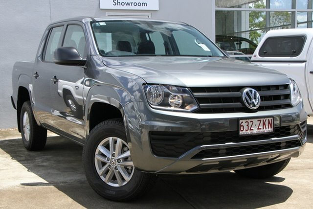 Demo Volkswagen Amarok 2H MY19 TDI420 4MOTION Perm Core, 2019 Volkswagen Amarok 2H MY19 TDI420 4MOTION Perm Core Indium Grey 8 Speed Automatic Utility