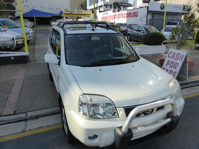 Used Nissan X-Trail T30 TI-L (Sunroof) (4x4), 2005 Nissan X-Trail T30 TI-L (Sunroof) (4x4) White 4 Speed Automatic Wagon