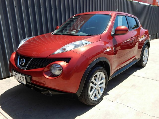 Used Nissan Juke F15 MY14 ST 2WD, 2014 Nissan Juke F15 MY14 ST 2WD Red 1 Speed Constant Variable Hatchback