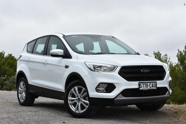 Used Ford Escape ZG 2019.75MY Ambiente 2WD, 2019 Ford Escape ZG 2019.75MY Ambiente 2WD White 6 Speed Sports Automatic Wagon