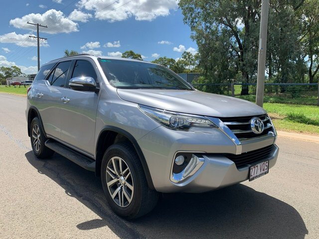 Used Toyota Fortuner GUN156R Crusade, 2015 Toyota Fortuner GUN156R Crusade Silver Sky 6 Speed Automatic Wagon