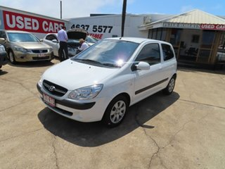 2010 Hyundai Getz TB MY09 S White 5 Speed Manual Hatchback