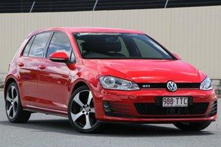2013 Volkswagen Golf VII MY14 GTI DSG Red 6 Speed Sports Automatic Dual Clutch Hatchback.