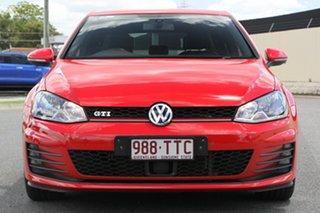 2013 Volkswagen Golf VII MY14 GTI DSG Red 6 Speed Sports Automatic Dual Clutch Hatchback