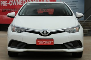 2018 Toyota Corolla ZRE182R MY17 Ascent Glacier White 7 Speed CVT Auto Sequential Hatchback