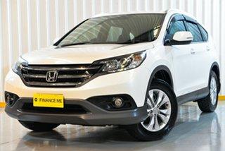 2014 Honda CR-V RM MY15 VTi-S 4WD White 5 Speed Sports Automatic Wagon.