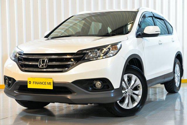 Used Honda CR-V RM MY15 VTi-S 4WD, 2014 Honda CR-V RM MY15 VTi-S 4WD White 5 Speed Sports Automatic Wagon