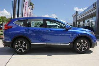 2019 Honda CR-V RW MY20 VTi-S FWD Blue 1 Speed Constant Variable Wagon.