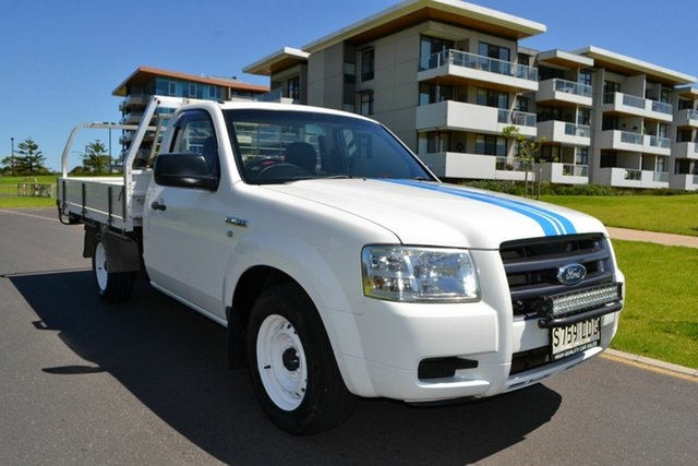 Used Ford Ranger PJ XL 4x2, 2007 Ford Ranger PJ XL 4x2 White 5 Speed Manual Cab Chassis