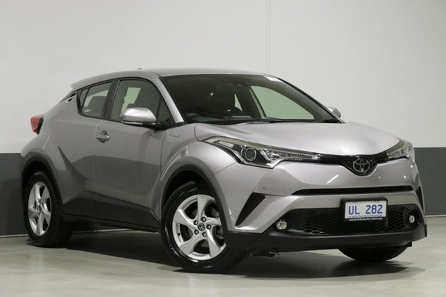 Used Toyota C-HR NGX10R Update (2WD), 2018 Toyota C-HR NGX10R Update (2WD) Grey Continuous Variable Wagon