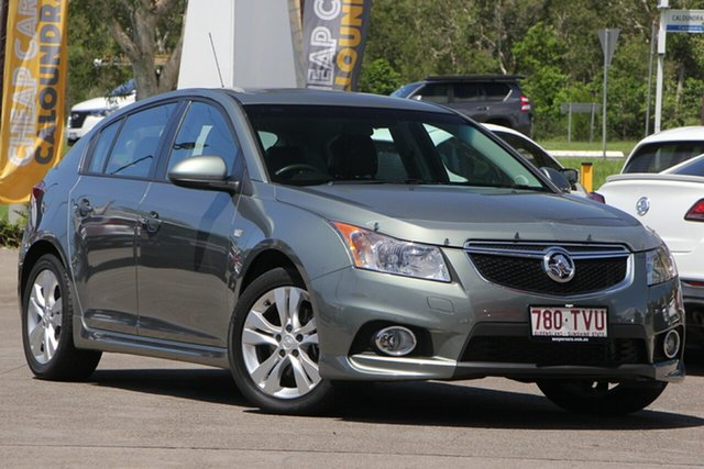 Used Holden Cruze JH Series II MY14 SRi, 2013 Holden Cruze JH Series II MY14 SRi Grey 6 Speed Sports Automatic Hatchback