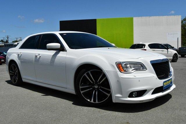 Used Chrysler 300  SRT8 Core, 2013 Chrysler 300 SRT8 Core White 5 Speed Automatic Sedan