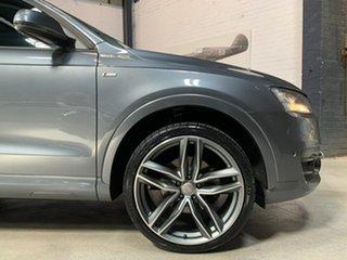 2013 Audi Q3 8U MY14 TDI S Tronic Quattro Grey 7 Speed Sports Automatic Dual Clutch Wagon.