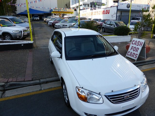 Used Kia Cerato LD , 2008 Kia Cerato LD White 4 Speed Automatic Hatchback