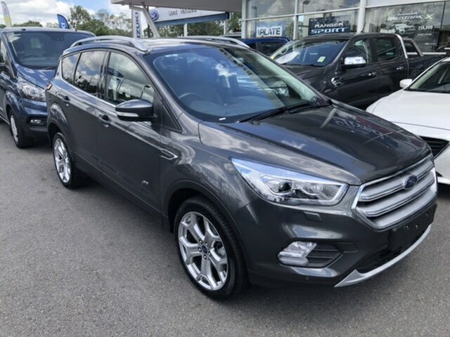 Used Ford Escape ZG 2018.00MY Titanium AWD, 2018 Ford Escape ZG 2018.00MY Titanium AWD Grey 6 Speed Sports Automatic Wagon