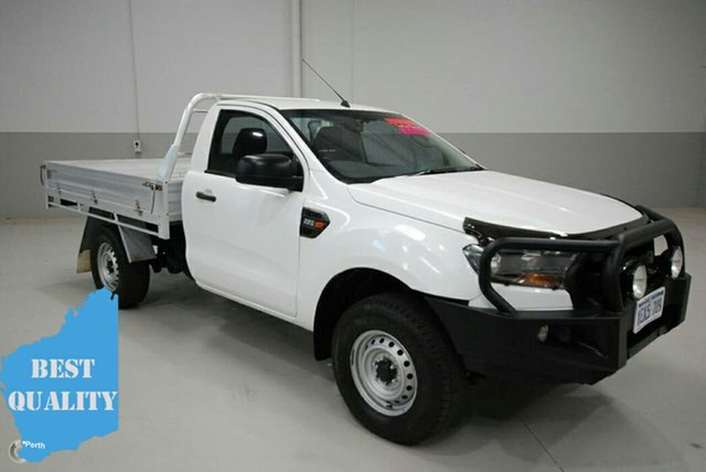 Used Ford Ranger PX MkII XL 4x2 Hi-Rider, 2015 Ford Ranger PX MkII XL 4x2 Hi-Rider White 6 Speed Sports Automatic Cab Chassis