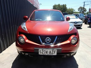 2014 Nissan Juke F15 MY14 ST 2WD Red 1 Speed Constant Variable Hatchback.