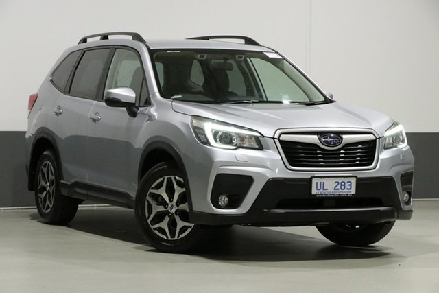 Used Subaru Forester MY18 2.5I-S, 2018 Subaru Forester MY18 2.5I-S Ice Silver Continuous Variable Wagon