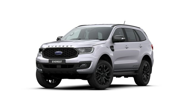 New Ford Everest UA II 2020.25MY Sport 4WD, 2019 Ford Everest UA II 2020.25MY Sport 4WD Aluminium 6 Speed Sports Automatic Wagon
