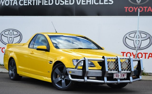 Used Holden Commodore VE II MY12.5 SV6 Z-Series, 2012 Holden Commodore VE II MY12.5 SV6 Z-Series Yellow 6 Speed Manual Utility