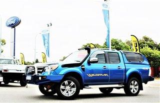 2011 Ford Ranger PK Wildtrak Crew Cab Blue 5 Speed Automatic Utility