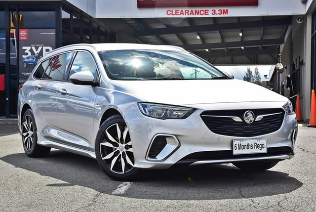 Used Holden Commodore ZB MY18 RS Sportwagon, 2018 Holden Commodore ZB MY18 RS Sportwagon Silver 9 Speed Sports Automatic Wagon