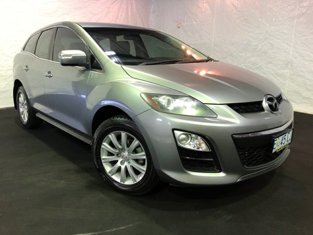Used Mazda CX-7 ER1031 MY07 Classic, 2009 Mazda CX-7 ER1031 MY07 Classic Silver 6 Speed Sports Automatic Wagon