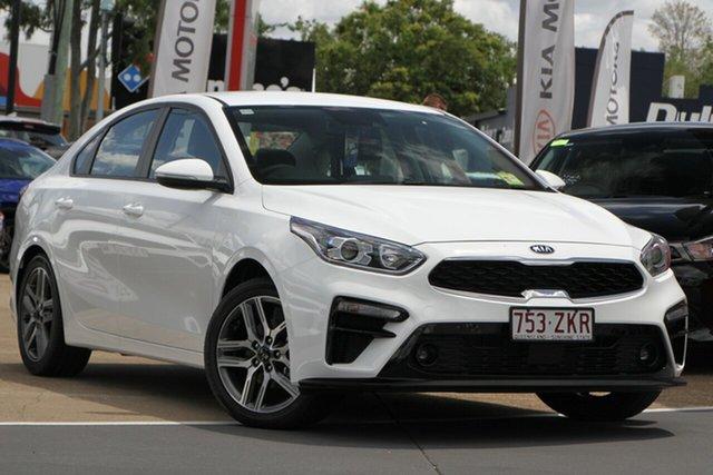 Used Kia Cerato BD MY20 Sport+, 2019 Kia Cerato BD MY20 Sport+ Clear White 6 Speed Sports Automatic Sedan