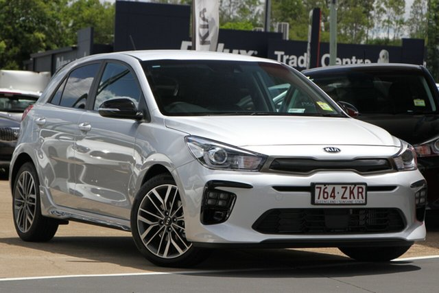 Used Kia Rio YB MY20 GT-Line DCT, 2019 Kia Rio YB MY20 GT-Line DCT Silky Silver 7 Speed Sports Automatic Dual Clutch Hatchback