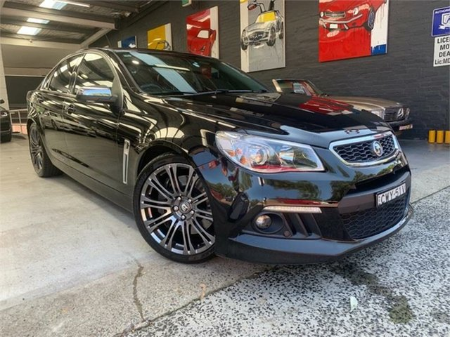 Used Holden Special Vehicles Senator Gen-F Signature, 2014 Holden Special Vehicles Senator Gen-F Signature Black Sports Automatic Sedan