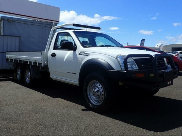 Used Holden Rodeo RA MY06 Upgrade DX, 2006 Holden Rodeo RA MY06 Upgrade DX White 5 Speed Manual Cab Chassis
