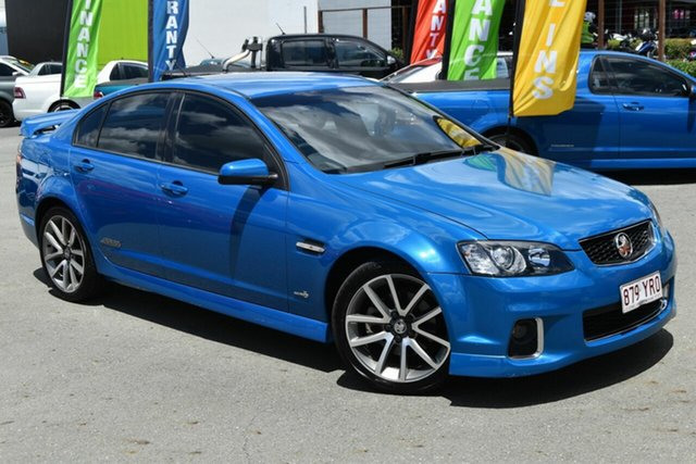 Used Holden Commodore VE II MY12 SS-V, 2011 Holden Commodore VE II MY12 SS-V Blue 6 Speed Automatic Sedan