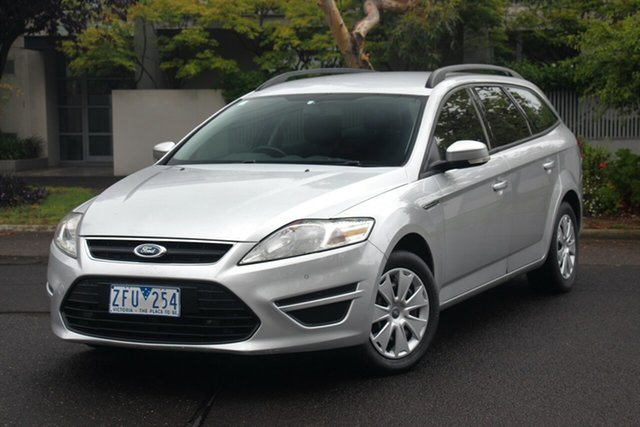 Used Ford Mondeo MC LX TDCi, 2012 Ford Mondeo MC LX TDCi Silver 6 Speed Direct Shift Wagon