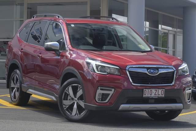 Demo Subaru Forester S5 MY20 2.5i-S CVT AWD, 2019 Subaru Forester S5 MY20 2.5i-S CVT AWD Crimson Red 7 Speed Constant Variable Wagon