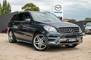 2014 Mercedes-Benz M-Class W166 MY805 ML250 BlueTEC 7G-Tronic + Grey 7 Speed Sports Automatic Wagon.