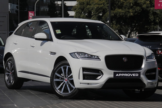 Demo Jaguar F-PACE X761 MY20 20d AWD R-Sport, 2019 Jaguar F-PACE X761 MY20 20d AWD R-Sport Fuji White 8 Speed Sports Automatic Wagon