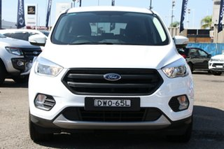 2018 Ford Escape ZG 2018.00MY Ambiente 2WD White 6 Speed Sports Automatic Wagon