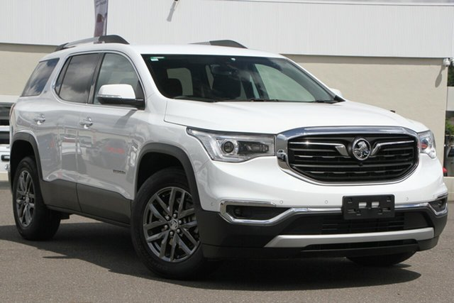 Used Holden Acadia AC MY19 LTZ AWD, 2019 Holden Acadia AC MY19 LTZ AWD White 9 Speed Sports Automatic Wagon