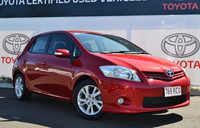 Used Toyota Corolla ZRE152R Ascent Sport, 2010 Toyota Corolla ZRE152R Ascent Sport Wildfire 4 Speed Automatic Hatchback