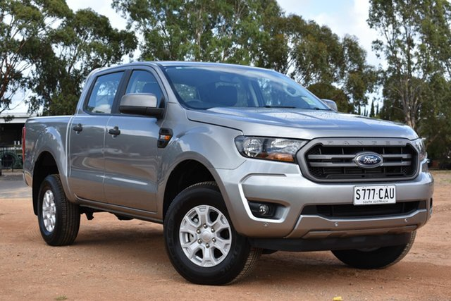 Used Ford Ranger PX MkIII 2019.00MY XLS Pick-up Double Cab, 2019 Ford Ranger PX MkIII 2019.00MY XLS Pick-up Double Cab Silver 6 Speed Sports Automatic Utility