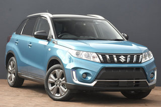 2020 Suzuki Vitara LY Series II 2WD Blue & Black 6 Speed Sports Automatic Wagon.