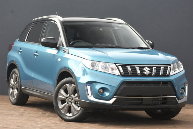 New Suzuki Vitara LY Series II 2WD Hamilton, 2021 Suzuki Vitara LY Series II 2WD Atlantis Turquoise & Cosmic Black 6 Speed Sports Automatic Wagon