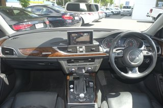 2012 Audi A6 4G MY13 S Tronic Quattro White 7 Speed Sports Automatic Dual Clutch Sedan